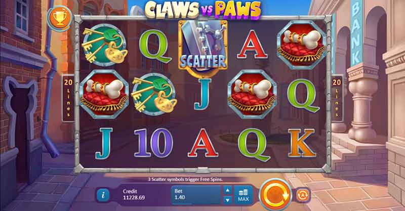 Claws vs Paws Slot,