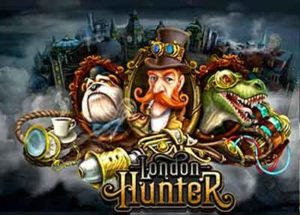 Der London Hunter Slot, T-Rex Jagd in London