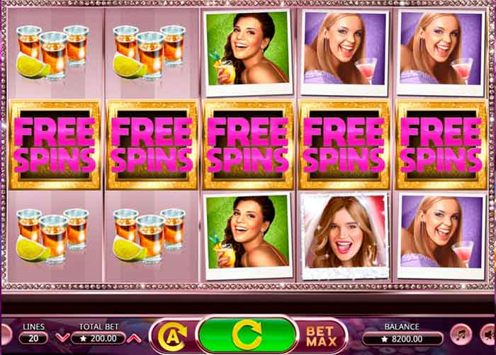 Bachelorette Party Slot